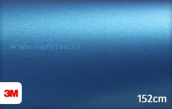 3M 1080 M227 Matte Blue Metallic wrapping folie
