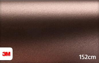 3M 1380 M219 Matte Brown Metallic wrapping folie