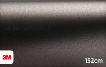 3M 1380 M221 Matte Charcoal Metallic wrapping folie