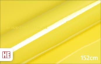 Hexis HX20108B Lemon Yellow Gloss wrapping folie