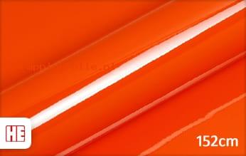 Hexis HX20165B Mandarin Red Gloss wrapping folie