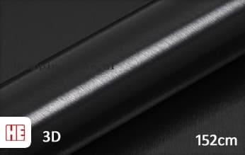 Hexis HX30BA889B Brushed Alu Coal Black Gloss wrapping folie