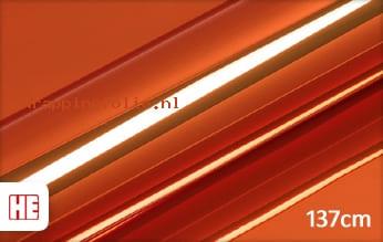 Hexis HX30SCH08B Super Chrome Orange Gloss wrapping folie