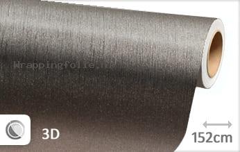 Geborsteld aluminium antraciet wrapping folie