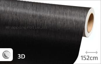Geborsteld aluminium zwart wrapping folie