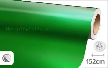 Glans metallic groen wrapping folie