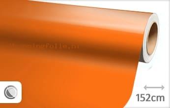 Glans oranje wrapping folie