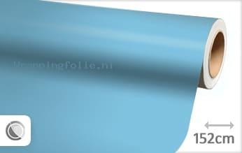 Mat babyblauw wrapping folie