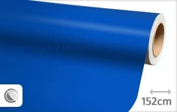 Mat blauw wrapping folie