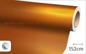 Mat chroom oranje wrapping folie