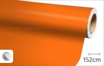 Mat oranje wrapping folie